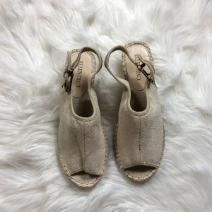 NEW Tracy Ellen Kameo Wedge Espadrille Shoes 9.5